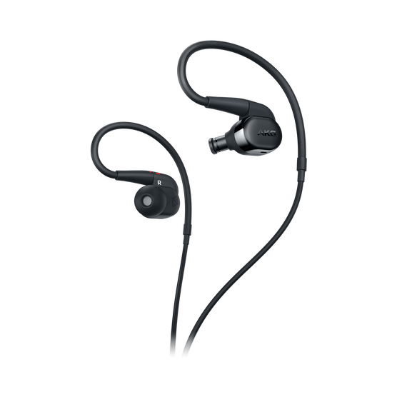 AKG N30 - Black - Hi-Res in-ear headphones with customizable sound - Detailshot 1