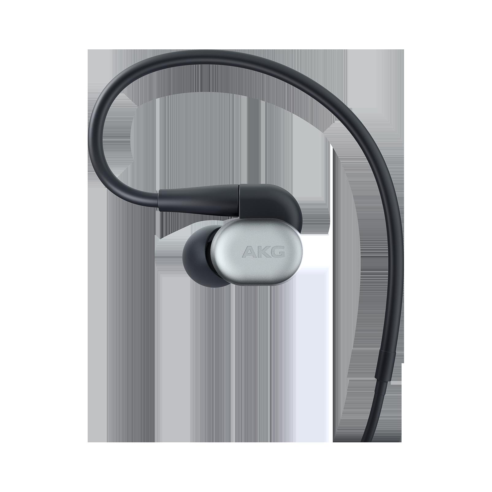 AKG N30 - Silver - Hi-Res in-ear headphones with customizable sound - Detailshot 1
