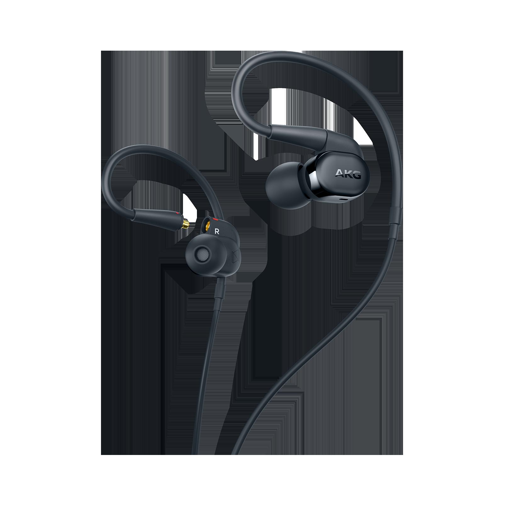 AKG N30 - Black - Hi-Res in-ear headphones with customizable sound - Hero